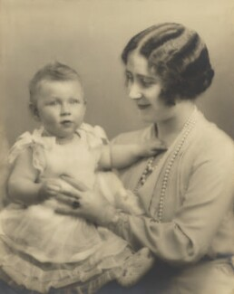 Princess Margaret; Queen Elizabeth, the Queen Mother, by Marcus Adams, 1931 - NPG P140(12) - © estate of Marcus Adams / Camera Press