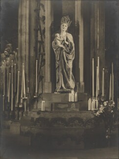 Lady Diana Cooper (Diana (née Manners), Viscountess Norwich) as the Madonna in 'The Miracle', by Bertram Park - NPG P140(37)