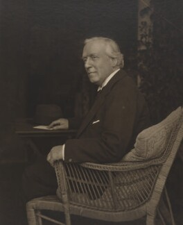 Herbert Henry Asquith, 1st Earl of Oxford and Asquith, by (Arthur) Walton Adams - NPG P140(38)