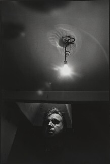 Francis Bacon, by Arnold Newman - NPG P150(3)