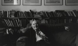 Sir John Betjeman, by Arnold Newman - NPG P150(6)