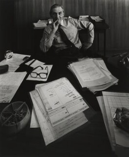 Len Murray, by Arnold Newman - NPG P150(28)