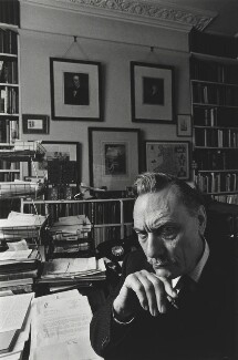 Enoch Powell, by Arnold Newman - NPG P150(32)