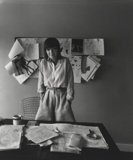 Dame Mary Quant, by Arnold Newman - NPG P150(34)