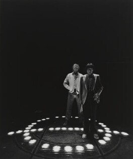 Tim Rice; Andrew Lloyd Webber, Baron Lloyd Webber, by Arnold Newman, 1978 - NPG P150(40) - © Arnold Newman / Getty Images
