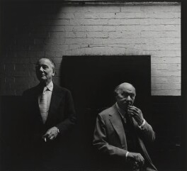 John Gielgud; Sir Ralph Richardson, by Arnold Newman - NPG P150(41)