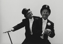 Eric Morecambe; Ernie Wise, by Arnold Newman, 1978 - NPG P150(42) - © Arnold Newman / Getty Images