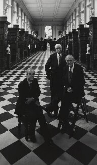 Nobel prize winning scientists, by Arnold Newman - NPG P150(48)