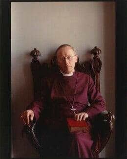 Frederick Donald Coggan, Baron Coggan, by Eve Arnold - NPG P519