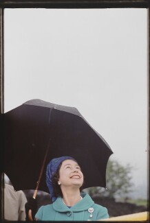 Queen Elizabeth II, by Eve Arnold, 1968 - NPG  - © Eve Arnold / Magnum Photos