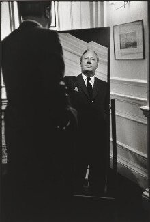 Sir Edward Heath, by Eve Arnold - NPG P521
