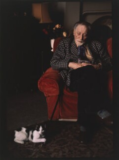 Compton Mackenzie, by Eve Arnold - NPG P524