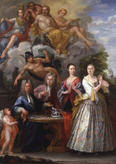 The Talman Family Group, by Giuseppe Grisoni - NPG 5781