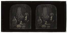 Sir Charles Wheatstone and his family, by Antoine Claudet, 1851-1852 - NPG  - © National Portrait Gallery, London