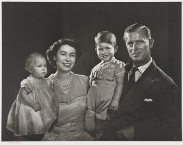 The Royal Family, by Yousuf Karsh - NPG P347