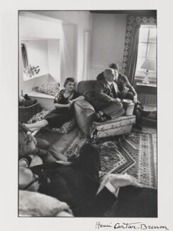 The Bevans (Aneurin Bevan; Jennie Lee; Karol Keres; Pietro Nenni), by Henri Cartier-Bresson, 1957 - NPG  - © Henri Cartier-Bresson / Magnum Photos