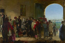 The Mission of Mercy: Florence Nightingale receiving the Wounded at Scutari, by Jerry Barrett, 1857 - NPG 6202 - © National Portrait Gallery, London