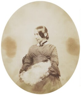 Jane Baillie Carlyle (née Welsh), attributed to Sir Anthony Coningham Sterling - NPG P171(16)