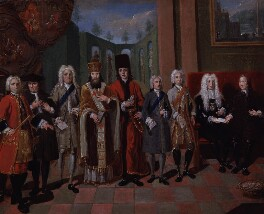 Group associated with the Moravian Church, attributed to Johann Valentin Haidt, circa 1752-1754 - NPG 624a - © National Portrait Gallery, London