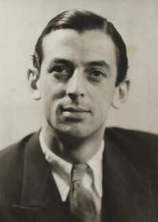 Alistair Cooke, by Ramsey & Muspratt - NPG P363(6)