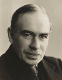 John Maynard Keynes, Baron Keynes, by Ramsey & Muspratt - NPG P363(14)