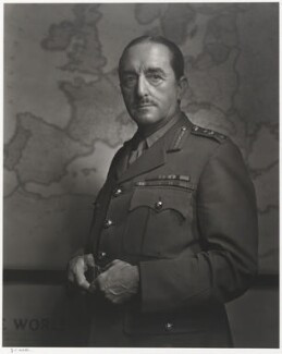 Alan Francis Brooke, 1st Viscount Alanbrooke, by Yousuf Karsh, 1943 - NPG  - © Karsh / Camera Press