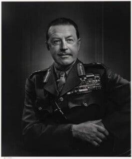 Harold Rupert Leofric George Alexander, 1st Earl Alexander of Tunis, by Yousuf Karsh - NPG P490(2)