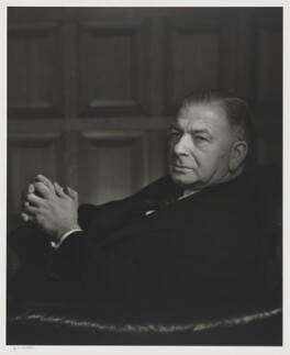 Albert Victor Alexander, Earl Alexander of Hillsborough, by Yousuf Karsh - NPG P490(4)