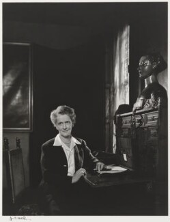 Nancy Astor, Viscountess Astor, by Yousuf Karsh, 1946 - NPG P490(5) - © Karsh / Camera Press
