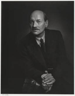 Clement Attlee, by Yousuf Karsh - NPG P490(6)