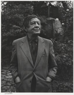 W.H. Auden, by Yousuf Karsh, 1972 - NPG P490(7) - © Karsh / Camera Press