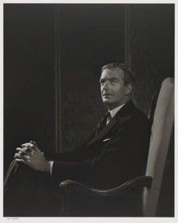 Anthony Eden, 1st Earl of Avon, by Yousuf Karsh, 1945 - NPG P490(8) - © Karsh / Camera Press