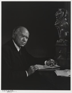 William Maxwell Aitken, 1st Baron Beaverbrook, by Yousuf Karsh, 1949 - NPG P490(10) - © Karsh / Camera Press