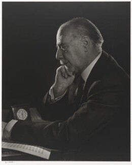 Sir Thomas Beecham, 2nd Bt, by Yousuf Karsh - NPG P490(11)