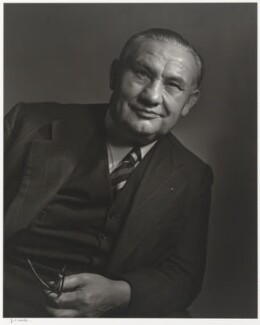 Ernest Bevin, by Yousuf Karsh - NPG P490(12)
