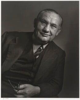 Ernest Bevin, by Yousuf Karsh - NPG P490(12)