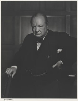Winston Churchill, by Yousuf Karsh, 1941 - NPG P490(16) - © Karsh / Camera Press