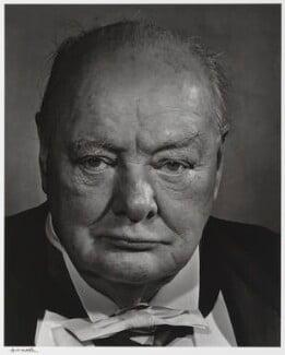 Winston Churchill, by Yousuf Karsh - NPG P490(18)