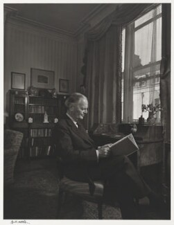 Kenneth Clark, Baron Clark, by Yousuf Karsh - NPG P490(19)