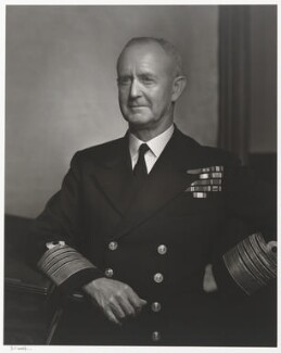 Andrew Browne Cunningham, Viscount Cunningham, by Yousuf Karsh - NPG P490(22)