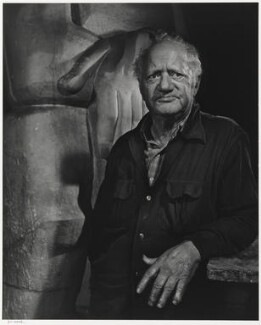 Jacob Epstein, by Yousuf Karsh - NPG P490(28)