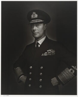 King George VI, by Yousuf Karsh - NPG P490(35)