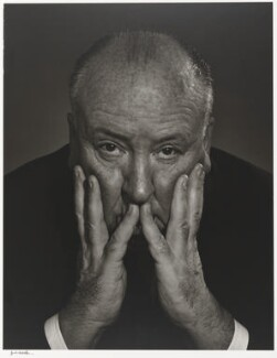 Alfred Hitchcock, by Yousuf Karsh - NPG P490(40)
