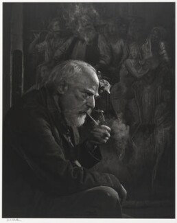 Augustus John, by Yousuf Karsh - NPG P490(42)