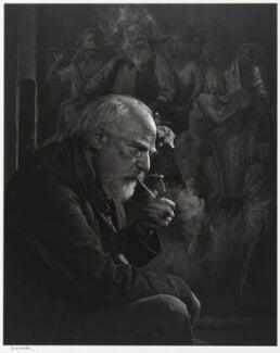 Augustus John, by Yousuf Karsh, 1954 - NPG P490(42) - © Karsh / Camera Press