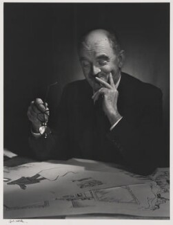 Sir David Low, by Yousuf Karsh - NPG P490(47)