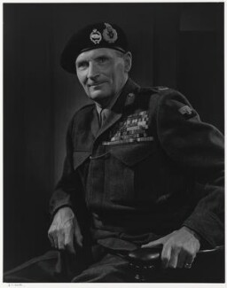Bernard Law Montgomery, 1st Viscount Montgomery of Alamein, by Yousuf Karsh - NPG P490(50)