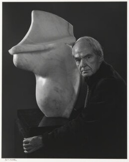 Henry Moore, by Yousuf Karsh - NPG P490(52)