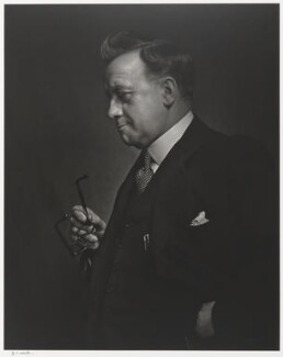 Herbert Stanley Morrison, Baron Morrison of Lambeth, by Yousuf Karsh - NPG P490(53)