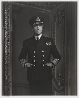 Louis Mountbatten, Earl Mountbatten of Burma, by Yousuf Karsh - NPG P490(54)